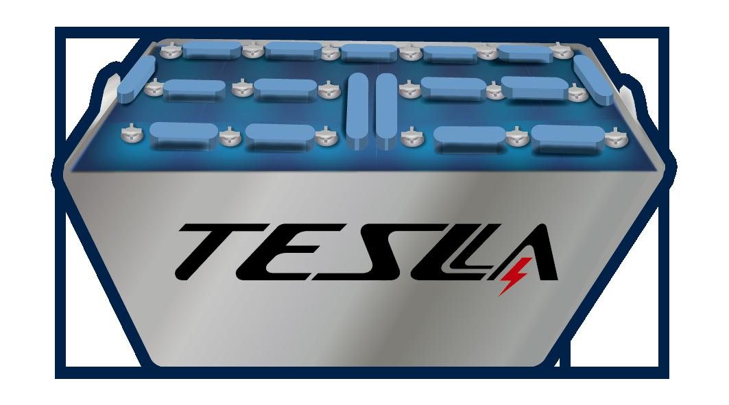 Tesla Baterías Industriales